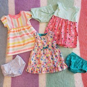 Baby Girl Dress Bundle 6-9m